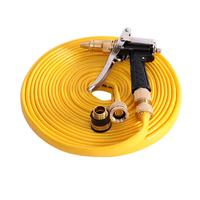 10m Yellow Expandable Magic Flexible Garden Hose Water Hose For Car Plastic Hoses Pipe With Spray Gun To Watering