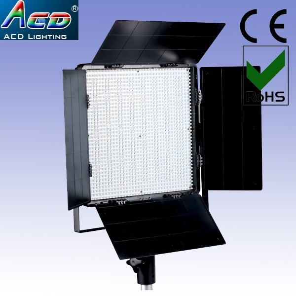 Hot sale 1296pcs Bi color warm white+white CRIu003e90 film lighting effect led studio video stage lights-in Portable Lighting Accessories from Lights u0026 Lighting ... & Hot sale 1296pcs Bi color warm white+white CRIu003e90 film lighting ...