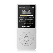 Nueva Original RUIZU X02 HIFI Deporte Reproductor de MP3 de 8 GB con 1.8 Pulgadas de Pantalla puede reproductor de 80 Horas de alta calidad lossless Grabadora de FM, E-libro