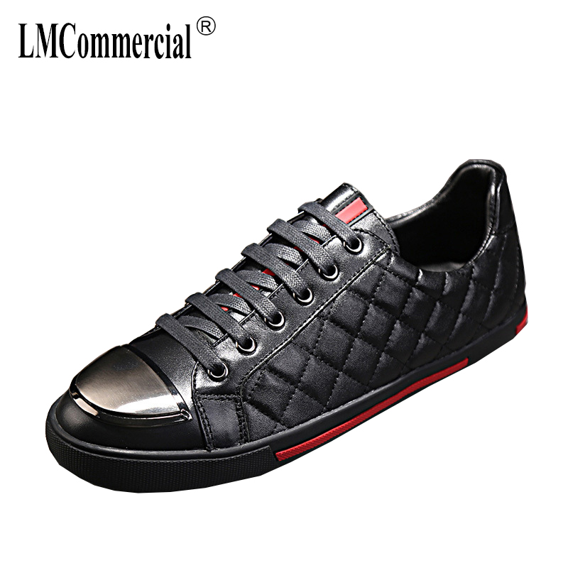 men's shoes Genuine Leather all-match cowhide fashion casual shoes men spring and autumn summer breathable sneaker male 2017 new spring imported leather men s shoes white eather shoes breathable sneaker fashion men casual shoes
