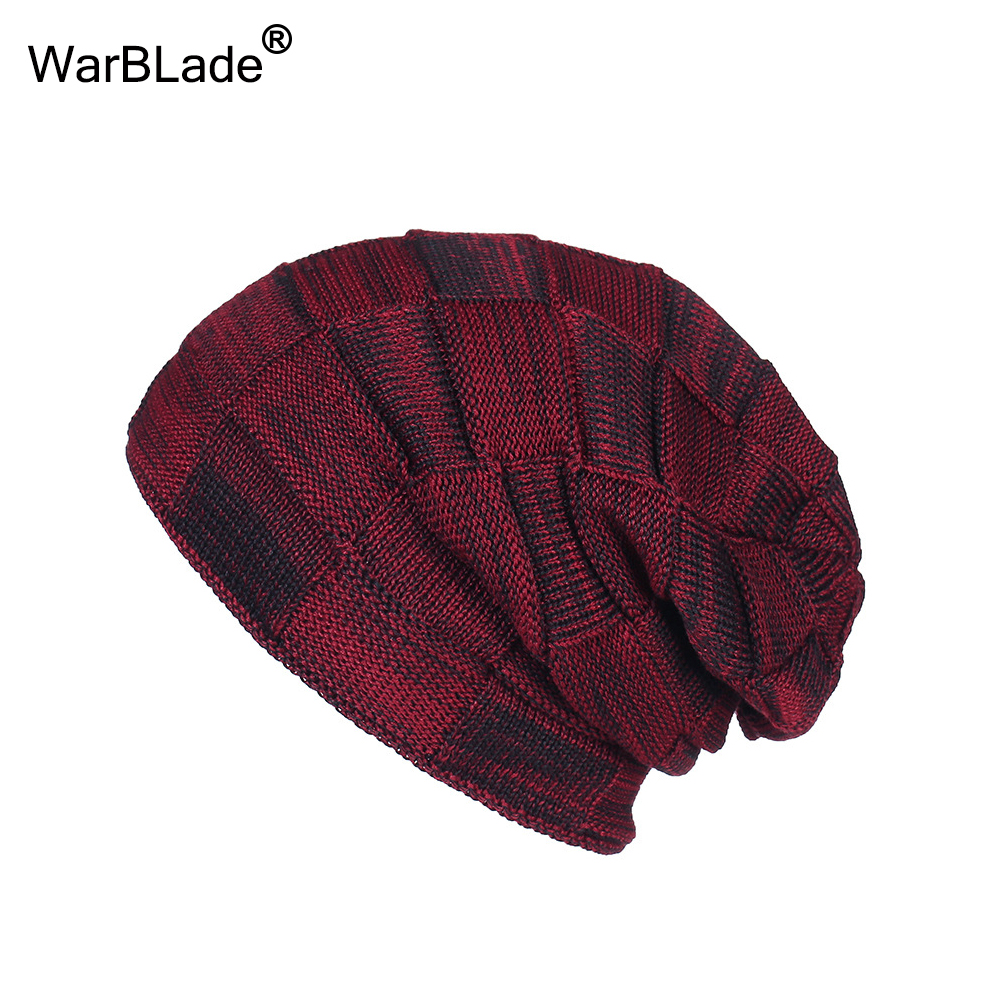 New Fashion Men Women Warm Snow Winter Casual Beanies Solid 6 Colors Favourite Knit Hat Cap Hip Hop Casual Male Bonnet WarBLade