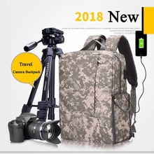 Сумка, рюкзак для фотоаппарата чехол для фотографии и крышка ноутбука для sony a6000 Canon EOS T6 Nikon D5500 DSLR/сумки для зеркальной камеры для человека Для женщин