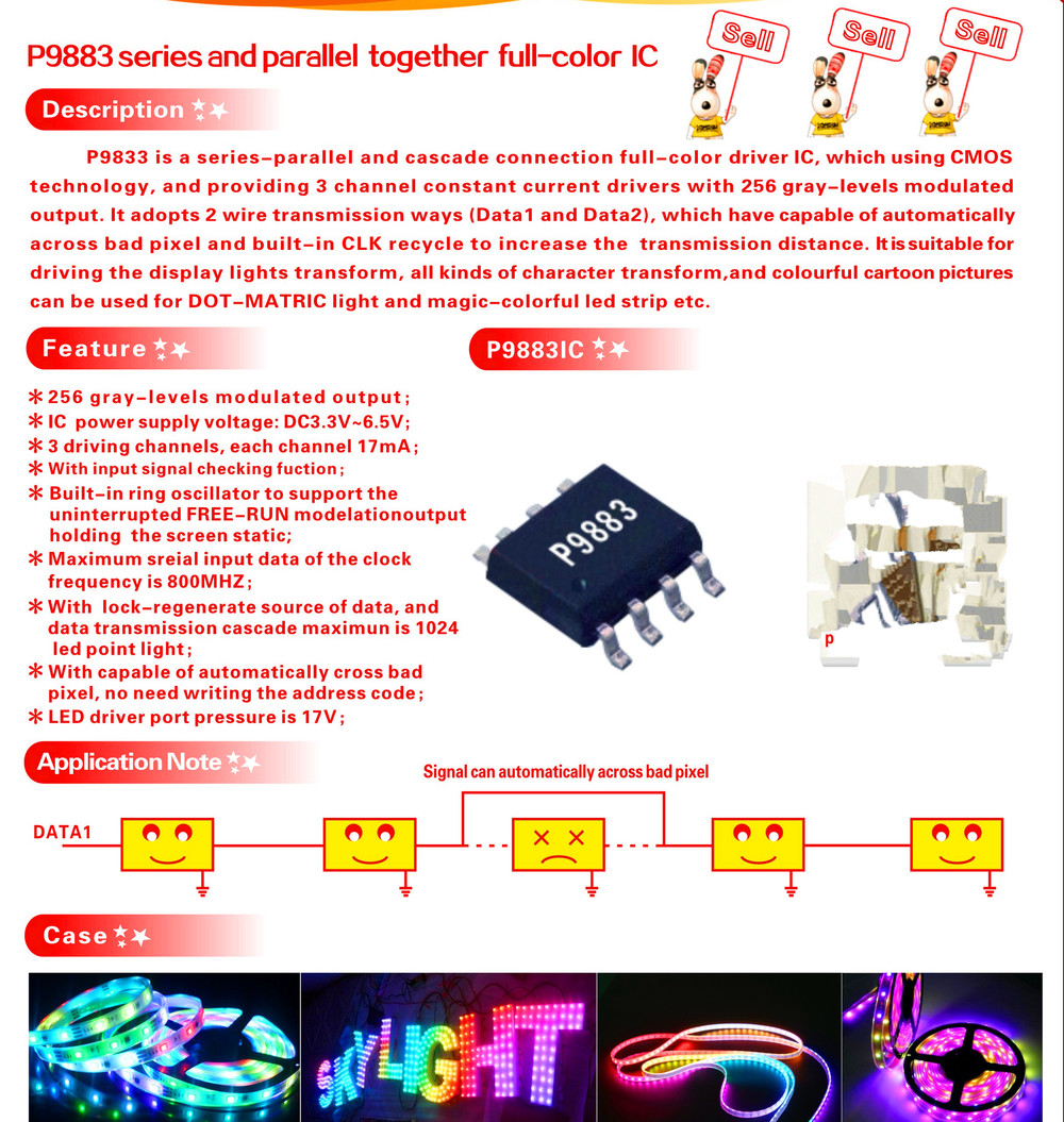 Buy P9883series And Parallel Together Full Color Wiring Lights In Series Or Aeproductgetsubject