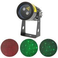 Landscape Laser Light Green Christmas Light Sparkling Starry Sky Laser Projector Lamp For Halloween US EU