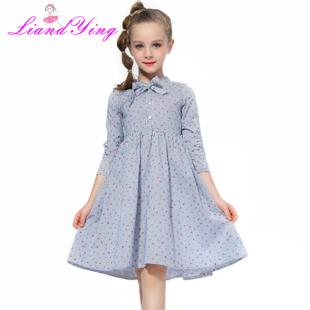 2018 Girls Tutu Dresses Cute Summer Children Clothes Baby Girls Casual Cotton Beachwear Spring Summer Girl Long-sleeve Dress summer baby kids dresses children girls long sleeve floral princess dress spring summer dress baby girls clothes dress for girl
