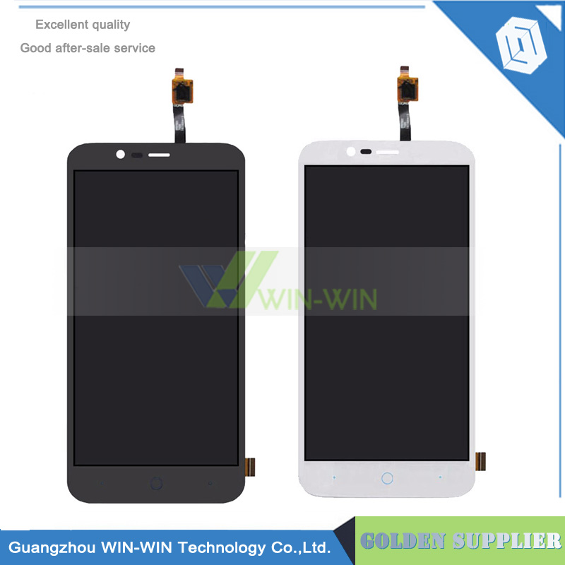 Black /WhiteFor ZTE Blade A310 LCD Display Screen Digitizer Assembly Replacement for zte blade a310 lcd Free Shipping аксессуар чехол zte blade a310 zibelino classico zcl zte a310 blk