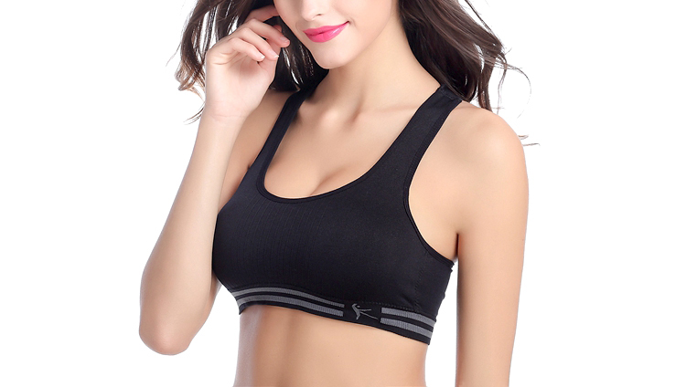 Women Yoga Fitness Sports Bra For Female Running Gym Tank Top Tube Crop Breathable Sport Brassiere Push Up Padded Vest Plus Size 4