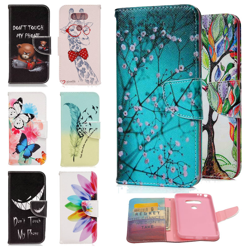 89afc466cf7858 100 pieces For LG G5 Phone Case National Style Flower Painting Animal  Wallet Stand Flip PU Leather Cover For LG G5 H830 Cases on Aliexpress.com |  Alibaba ...