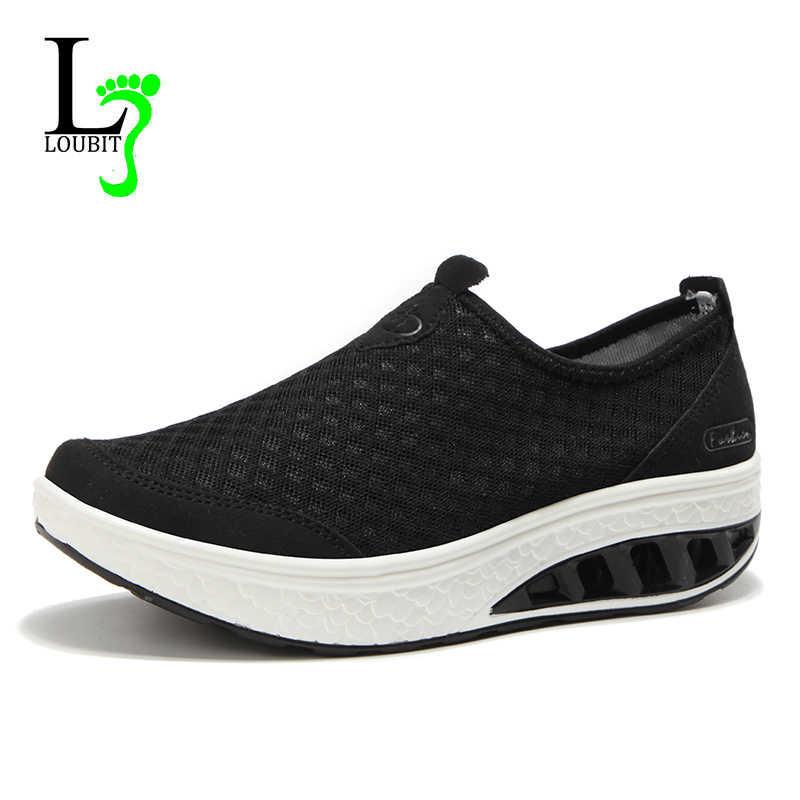 Женская обувь на плоской подошве из сетчатого материала; коллекция 2019 года; дышащие летние кроссовки; женские лоферы без застежки; обувь для танцев; женские лоферы; Mujer; большие размеры 35-42