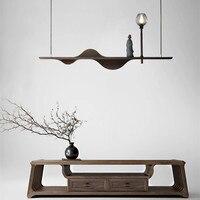 Modern Simple Art Solid Wood Pendant Lights Industrial lamp Lamparas de techo colgante moderna wood hanglamp