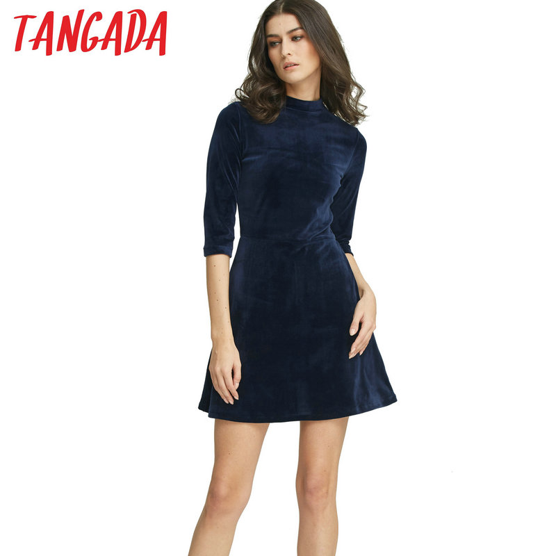Compare Prices on Navy Velvet Dress- Online Shopping/Buy Low Price ...