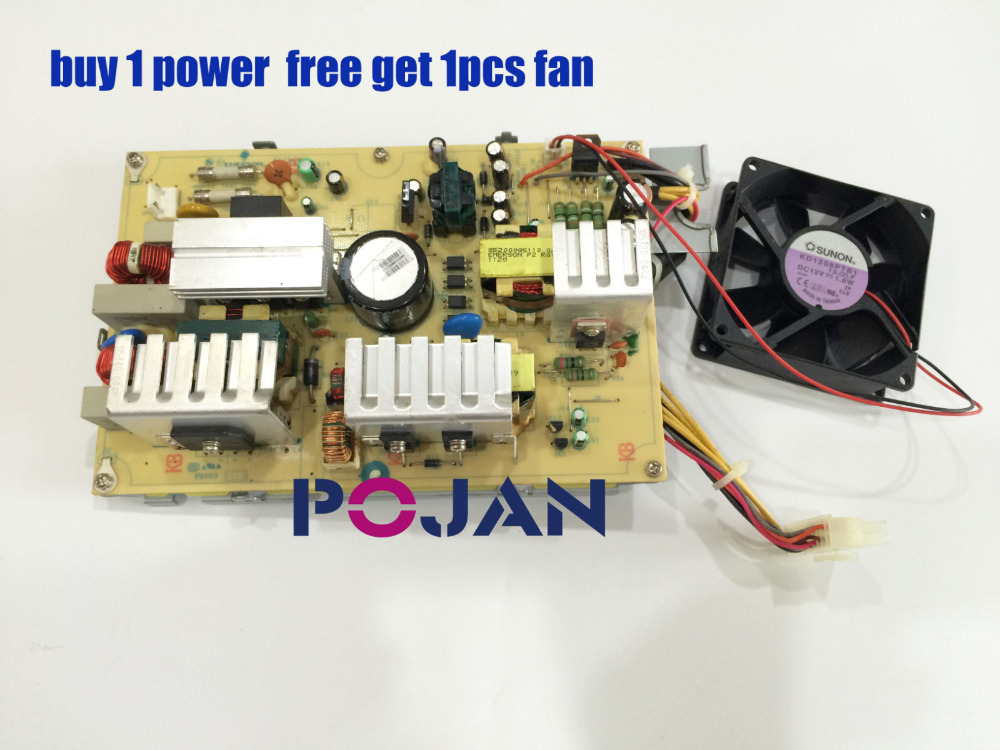 AA25200L Designjet T790 T795 T1300 T2300 Z3200 PS Power Supply Board With Fans Free shipping used Plotter parts