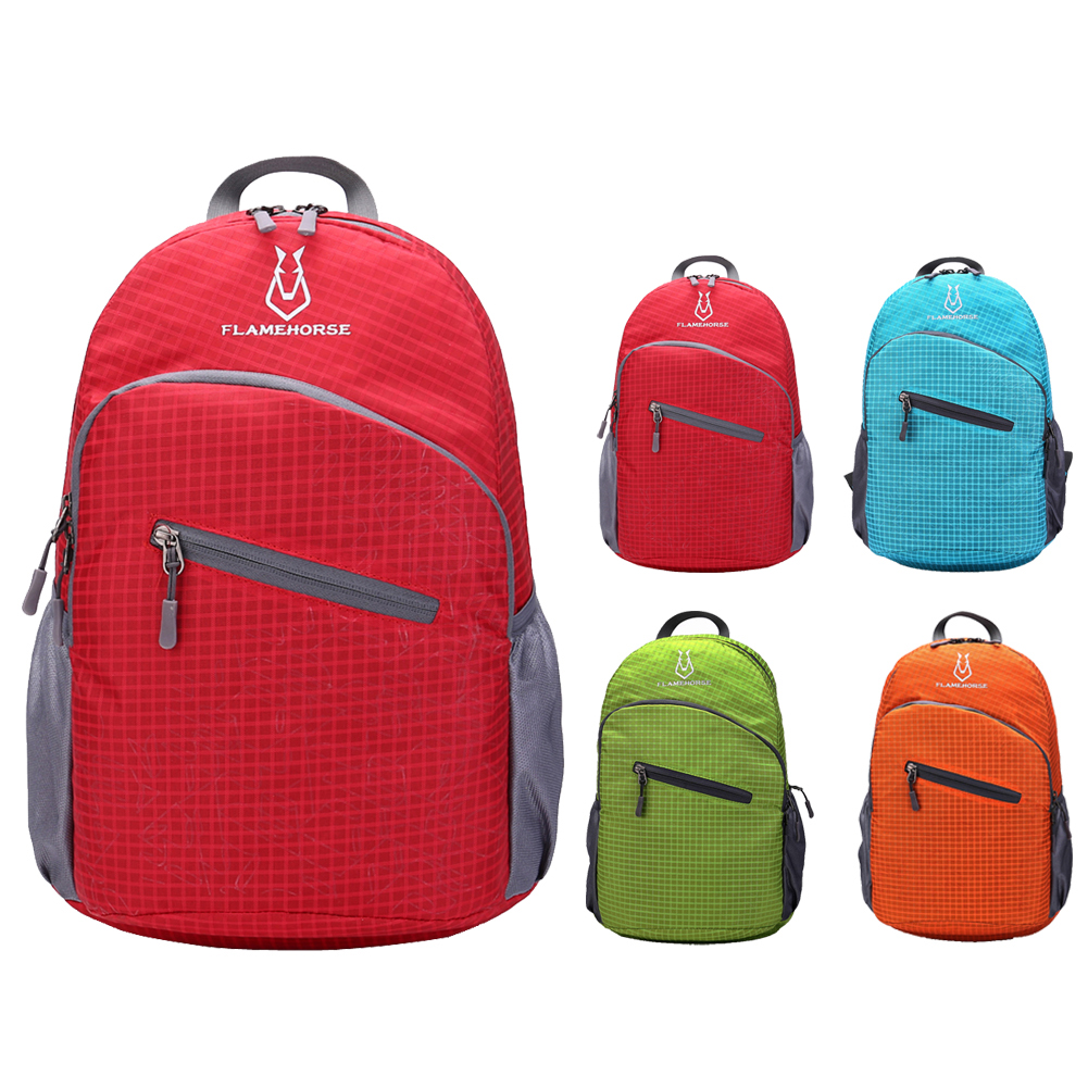 fcc88f4dc2cf Foldable Waterproof Nylon Unisex Travel Backpack- Fenix Toulouse ...