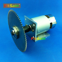 FitSain 775 motor DC24V 8000RPM 4 100mm circular saw blade for wood cutting disc mini table saw electric saw sawing machines