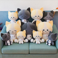New Style Cute Cartoon Cats Plush Toys Stuffed Animal Doll Toy Pillow Children Gift Valentines Day Gifts