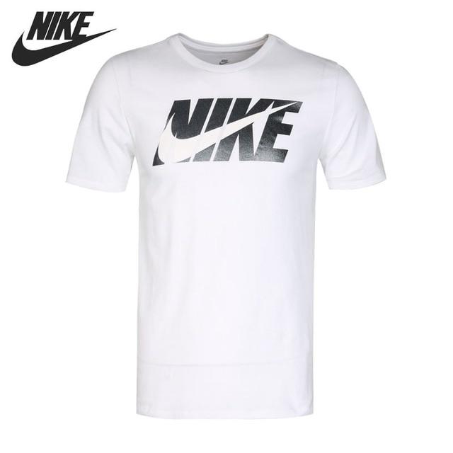 4d2dec5c7 Original New Arrival 2018 NIKE AS M NSW TEE SWOOSH BLOCK Men's T-shirts  short sleeve Sportswear