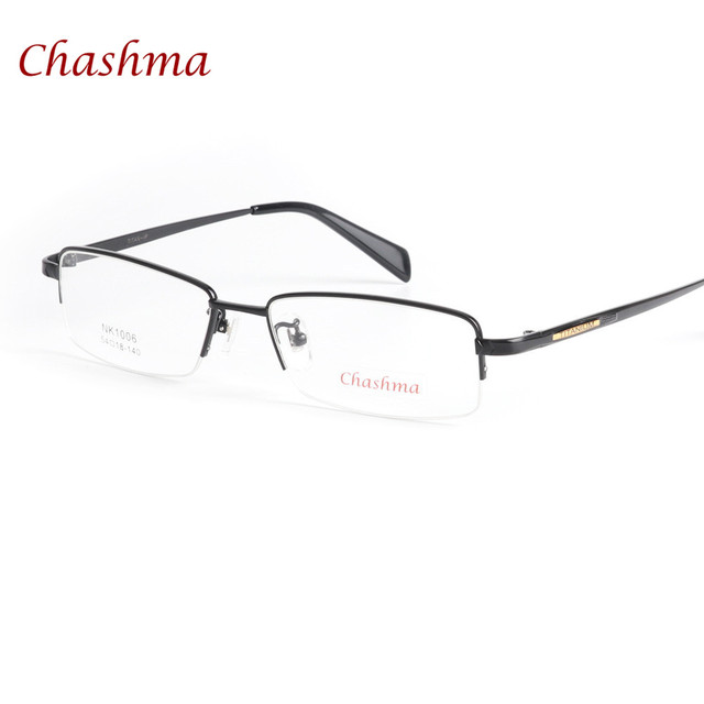 1ecca2f2b02 Chashma Brand Top Quality Titanium Glasses Ultra Light Eyewear Men Pure  Titan Optical Glasses Frame