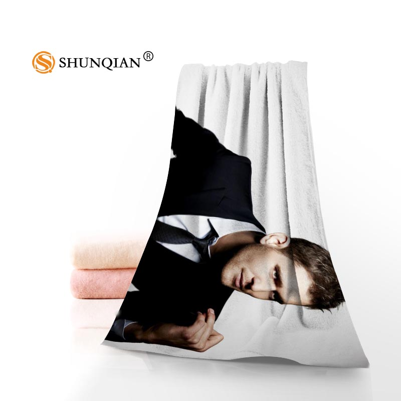 Custom Michael Buble Towel Printed Cotton Face/Bath Towels Microfiber Fabric 35X75cm,70X140cm Shower Towels