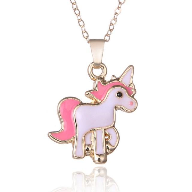 Girls' Unicorn Patterned Jewelry Set