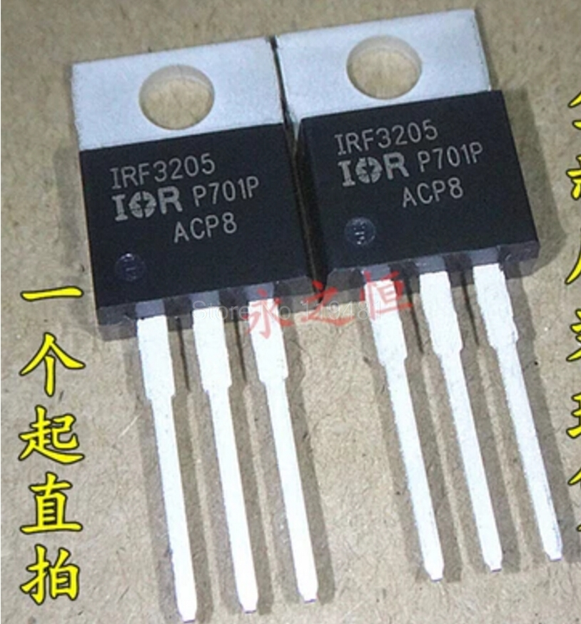 IRF 3205 TO-220 Trans MOSFET N-CH Si 55V 110A 3-Pin(3+Tab) TO-220AB IRF3205