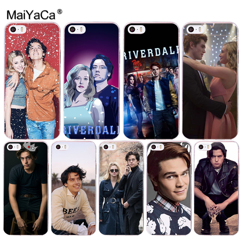 MaiYaCa American TV Riverdale Id Rather Be At Pops Novelty Phone Case Cover for iPhone 8 7 6 6S Plus X 5 5S SE 5C 4 4S Cover