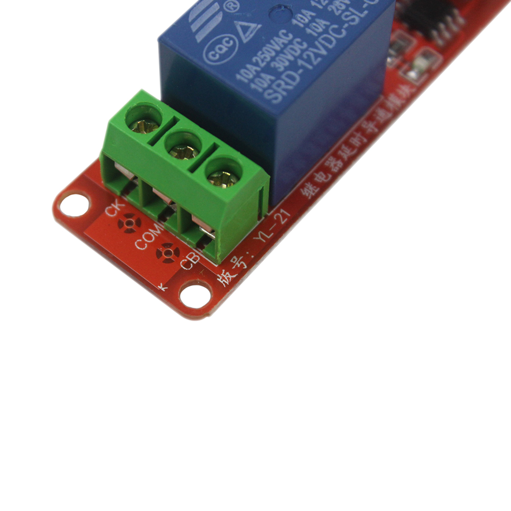 Smart Electronics Ne555 Dc 12v Delay Relay Shield Timer Switch 010s Toggle Circuit Using A 555 Adjustable Module