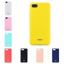 เคสโทรศัพท์สำหรับXiaomi Redmi 6A 7 7A 8A A1 A2 K20 CC9 CC9Eหมายเหตุ 6 7 8 pro Softซิลิโคนสีฝาครอบโทรศัพท์