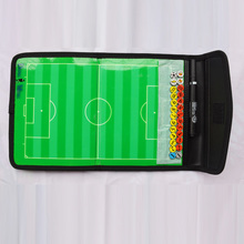 free shipping font b football b font tactical board 18 5 36 cm PU cover