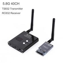 5,8G 48CH TS832 av-передатчик и RC832 приемник Беспроводная аудио/видео система передачи изображения приемник для FPV Дрон Quapcopter