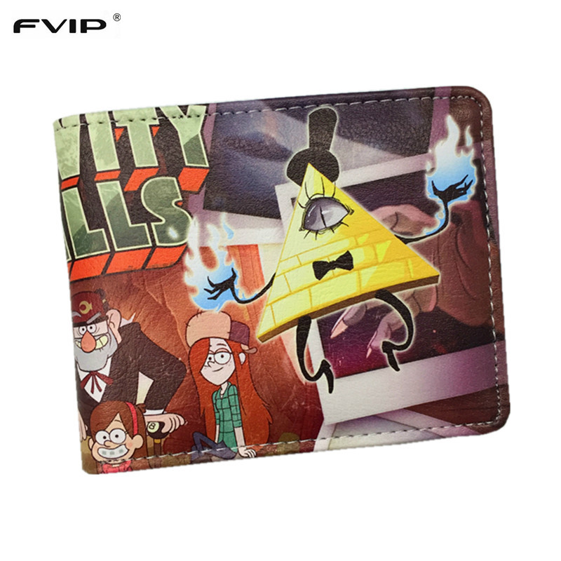 FVIP Gravity Falls Wallet Cartoon Characters Bill Cipher /Dipper Pines /Mabel Pines and The Simpsons Wallets Dollar Price gravity falls dipper s and mabel s guide to mystery and nonstop fun