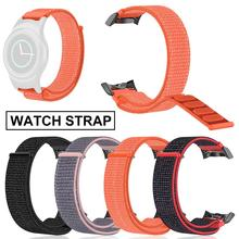 Nylon Loopback Replacement Strap Hook-and-loop Watch Band Wristband for Samsung Gear S2 R720 R730 Sports Watch nylon watchband for samsung galaxy gear s2 r720 durable canvas nato replacement band strap for sm r720 smart watch with adapters