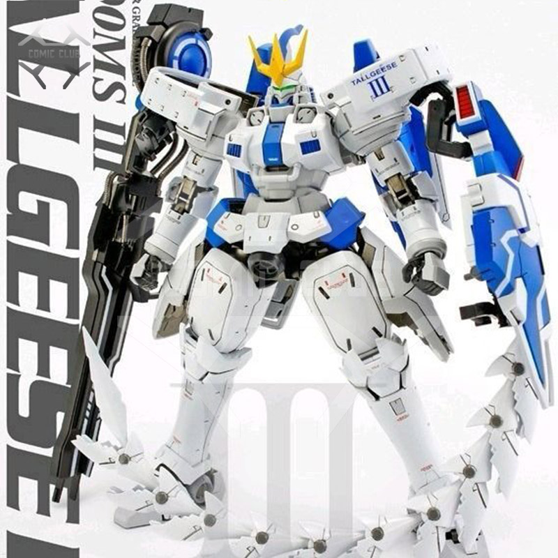 COMIC CLUB  Assembly MG 1/100 Gundam Tallgeese 1/2/3 White Box Ver. Action Figure Toy