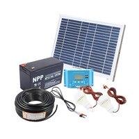 kit solar 10W solar panel for home solar system diy kit