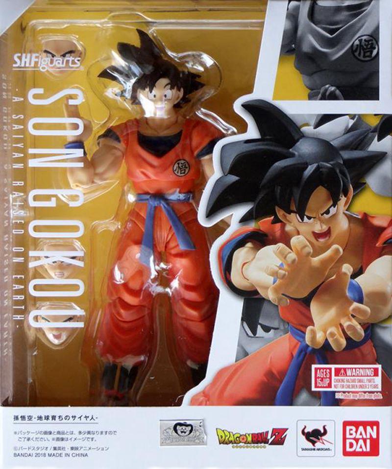 WSTXBD Original BANDAI Dragon Ball Z Super S.H. Figuarts SHF Black Goku 2.0 PVC Figure Brinquedos Dolls Toys Figurals цена 2017
