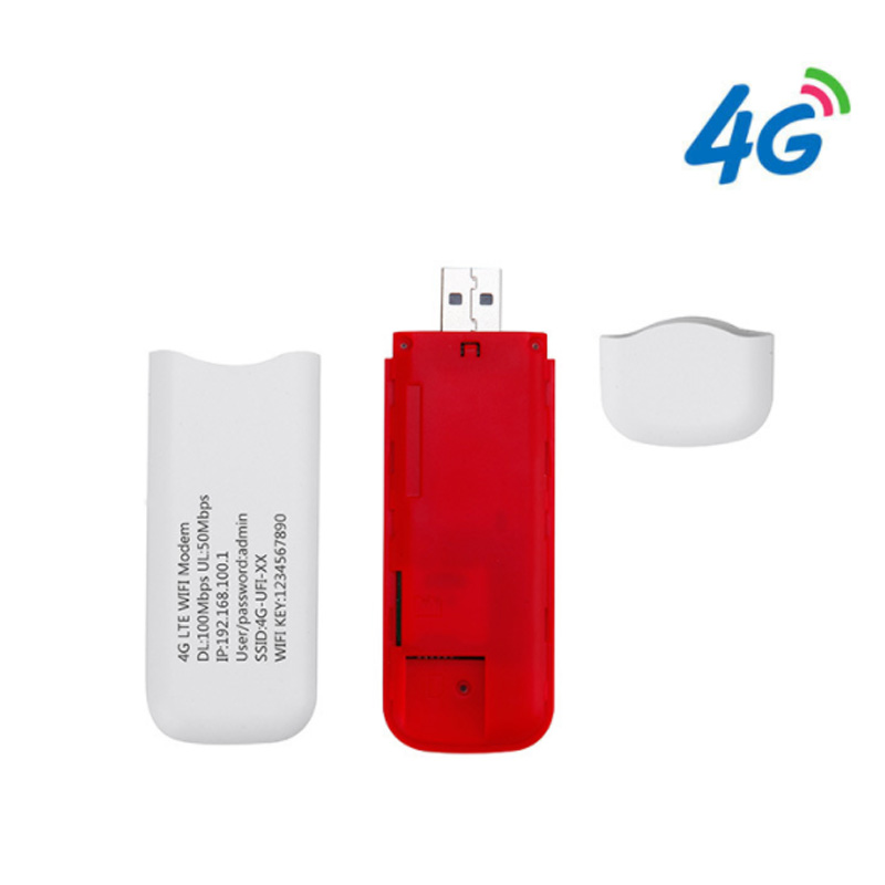 Image 5 - Unlocked 3G/4G USB LTE Dongle 100Mbps Pocked Wifi Router LTE USB Modem Stick With Sim Card Slot for Outdoor Car Router-in 3G/4G Routers from Computer & Office