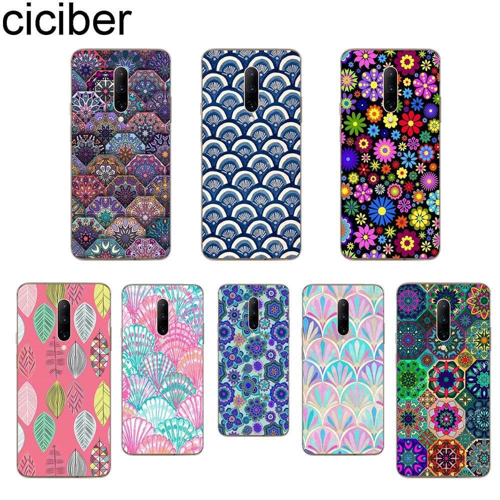 ciciber Datura Flowers Phone Cases For font b Oneplus b font font b 7 b font