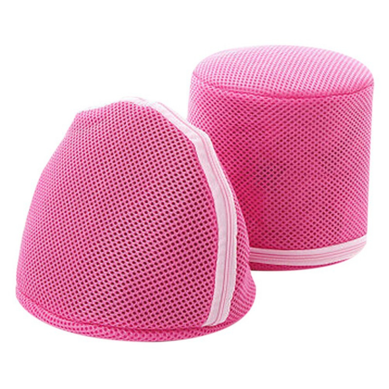 Women Stockings Lingerie Bra Wash Bag Wash Protecting Mesh clean washer Practical Aid Laundry bag 1PCS