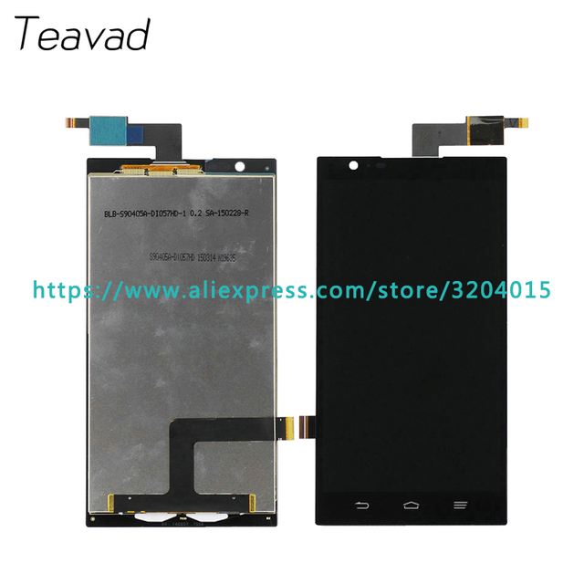 10pcs/lot high quality 6.0'' For ZTE Z970 LCD Display Screen With Touch Screen Digitizer Assembly Repair Parts +Tracking Code