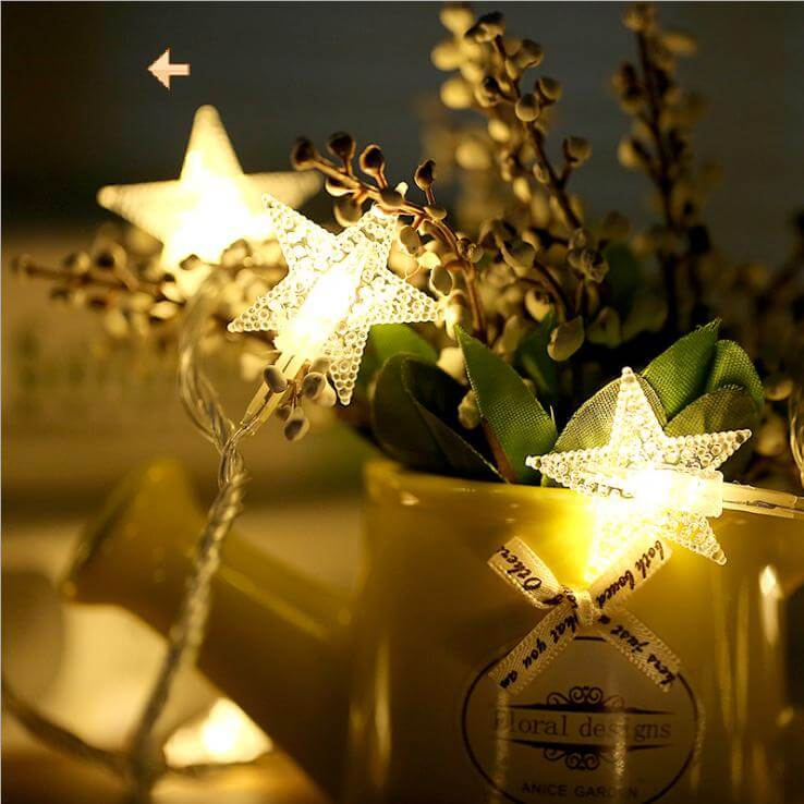 Warm white Star LED
