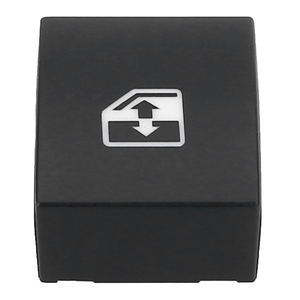 Image 2 - Para vauxhall opel 1pc preto plástico interruptor da janela elétrica botão capa 13228881 6240452 suporte astra mk5 h zafira/tigra b