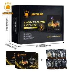 LIGHTAILING Ha Condotto La Luce Up Kit Per Harry Potter Hogwart del Castello di Luce Set Compatibile Con 71043 (Non Includere La modello)
