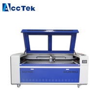 Hot sale CO2 180w 300w laser cutter metal machine/ high speed cutting 3mm steel machine with double heads