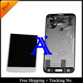 Free Shipping + 100% tested Original  For Samsung Galaxy S5 G900 G900F LCD Digitizer Assembly +sticker - White/Black