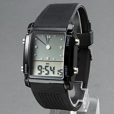 aliexpress com buy unisex led analog digital display multi aliexpress com buy unisex led analog digital display multi functional silicone band wrist watch assorted colors from reliable watch drive suppliers on
