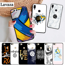 Lavaza I love Volleyball Printing Silicone Case for