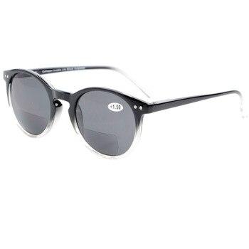 d022907da8 S005 eyekepper clave agujero estilo primavera bisagra ronda bifocal Gafas  de sol Sol lectores + 1.0/+ 1.5/+ 2.0/2.5/3.0