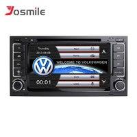 Josmile 2 din Car Multimedia Player For VW Volkswagen Touareg T4 Transporter T5 GPS Navigation AutoRadio 2004 2005 2006 20082011