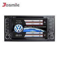 Josmile 2 din Car Multimedia Player For VW Volkswagen Touareg T4 Transporter T5 GPS Navigation AutoRadio 2004 2005 2006 20082011
