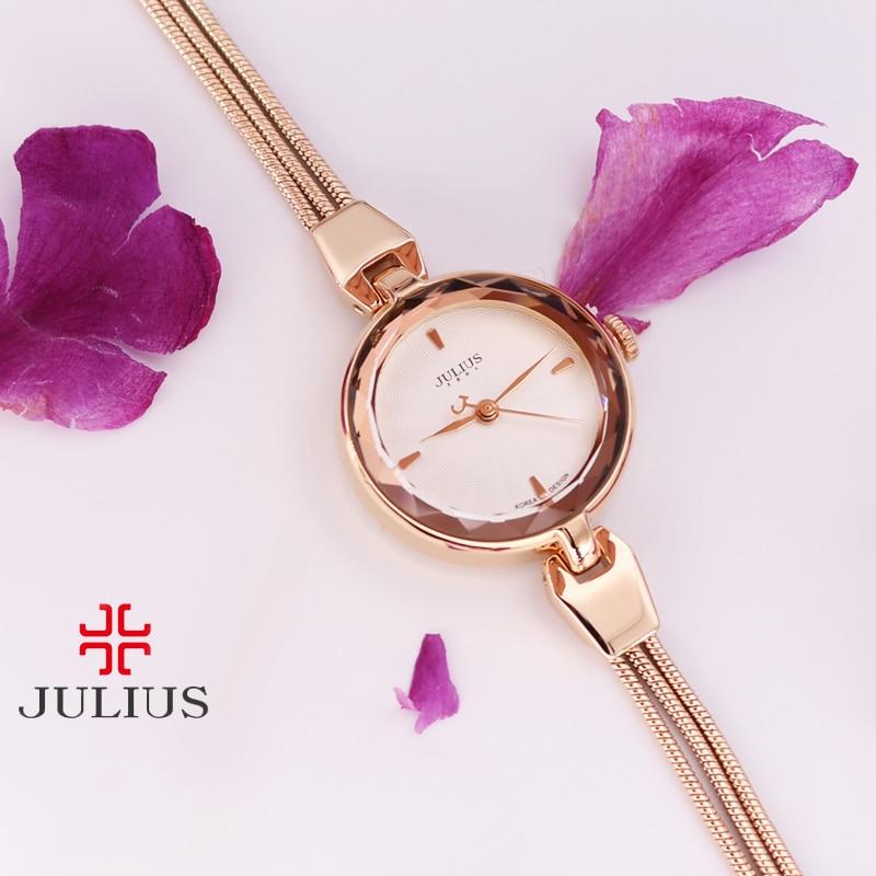 Top Julius Lady Women's Watch Fashion Hours Dress Bracelet Alloy Tassels Student Girl Luxury Birthday Valentine Gift