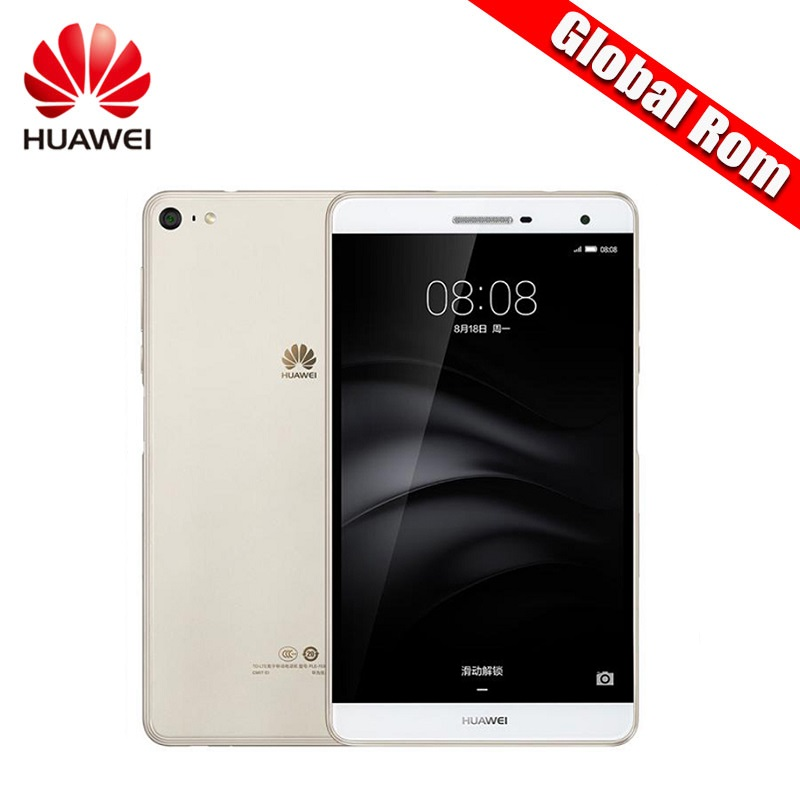 Global Firmwar 7.0″ Huawei MediaPad M2 Lite PLE-703L Octa Core 2GB RAM 16GB ROM Android Tablet Snapdragon 615 Fingerprint 13.0MP